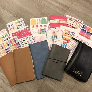 NEW Kate Spade Wellesley Planner and FREE stickers